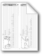 Traditional Manuscript: Lions, Hippo, Zebra, Addax (Week 13)