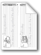 Traditional Manuscript: Vehicle Alphabet S-Z (Week 36)