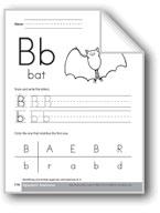 Traditional/Modern Manuscript Writing: Bb