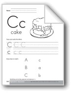 Traditional/Modern Manuscript Writing: Cc