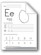 Traditional/Modern Manuscript Writing: Ee