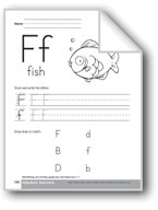 Traditional/Modern Manuscript Writing: Ff