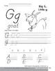 Traditional/Modern Manuscript Writing: Gg