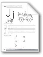 Traditional/Modern Manuscript Writing: Jj