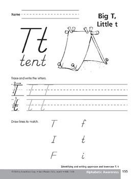 Traditional/Modern Manuscript Writing: Tt