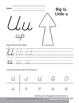 Traditional/Modern Manuscript Writing: Uu