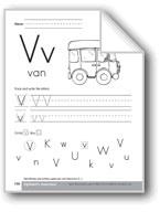 Traditional/Modern Manuscript Writing: Vv