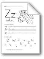 Traditional/Modern Manuscript Writing: Zz