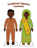 Traditional Nigerian Paper Doll Outfits
