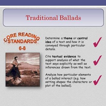 Traditional Ballads