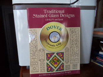 Traditional Stained Glass Designs  ISBN#0-486-99533-X