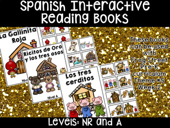 Traditional Tales Span. Interactive Reading Books Can Be Used With Frog Street