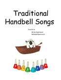 Traditional handbell songbook for 8 note colored handbells/boomwhackers