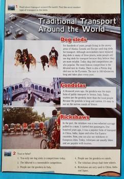Traditional transport around the world