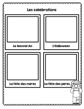 Traditions and Celebrations Mini- Unit (FRENCH IMMERSION)