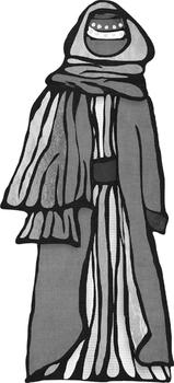Traditonal Clothing Styles from Around the World Female Set 1
