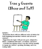 Trae y Cuenta: Spanish Show and Tell Presentation, All Levels!