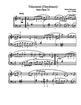 Träumerei from Op. 15 (arr. J. Poteat)