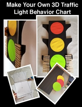 Traffic light behavior chart pattern by maritza good idea tpt