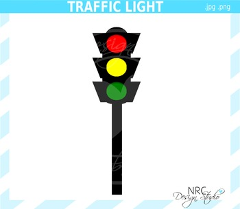 Traffic Light Clip Art - Commercial Use Clipart