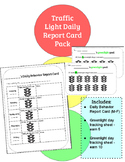 Traffic Light - Daily Behavior Report Card Pack