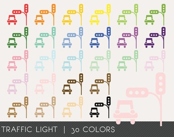 Traffic Light Digital Clipart, Traffic Light Graphics, Traffic Light PNG