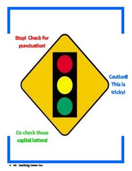 Traffic Light Editing Posters