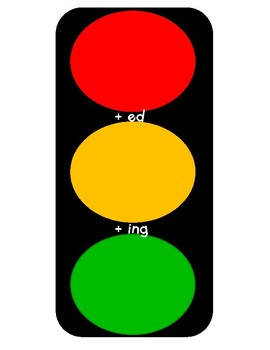 Traffic Light Endings Wipeoff Mat