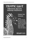 Traffic Light Formative Assessment for Self and Partner