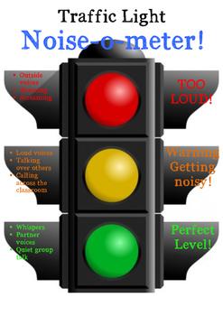 Traffic Light Noise-O-Meter