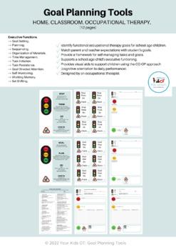 Traffic Light Planning and Organisational Visual Aid