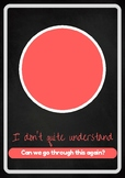 Traffic Light Posters - Levels of Understanding
