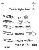 Traffic Light Rebus Poem