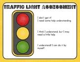 Traffic Light Self-Assessment Poster