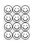 Traffic Light Smiley Faces