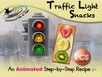 Traffic Light Snacks - Animated Step-by-Step Recipe - PCS
