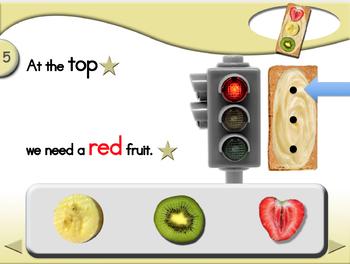 Traffic Light Snacks - Animated Step-by-Step Recipe - Regular