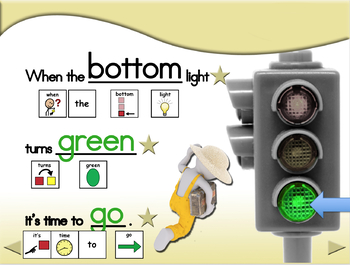 Traffic Light Snacks - Animated Step-by-Step Recipe - SymbolStix