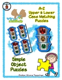 Traffic Light / Stop Light - Alphabet / Letter Puzzles - S