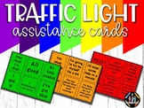 Traffic Light Student Assistance Cards