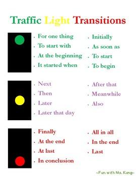 Traffic Light Transitions Poster