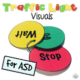 Traffic Light Visual Aid for ASD - Stop, Wait, Go Visual Supports