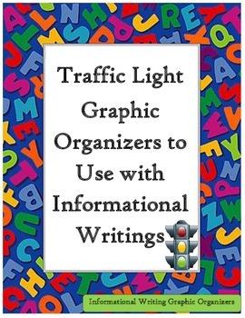 Traffic Light Writing Graphic Organizers