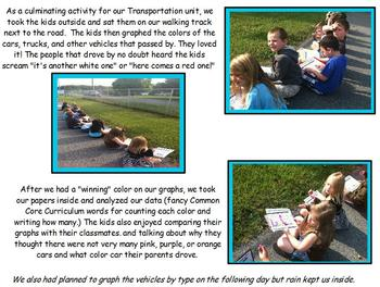 Traffic Report (Transportation Graphing Activity)