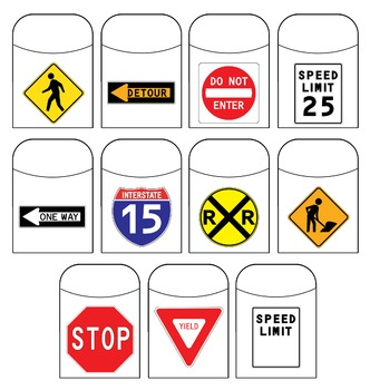 Traffic Sign Library Pockets