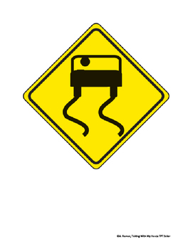 Traffic Sign of the Week Curriculum