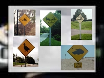 Traffic Signs/ less common, picture signs, funny signs