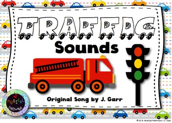 Traffic Sounds - An Original Song for Exploring Singing Voice vs. Speaking Voice