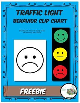 Traffic light kit for large behavior management tool