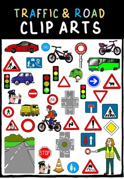 Traffic / road signs - cliparts